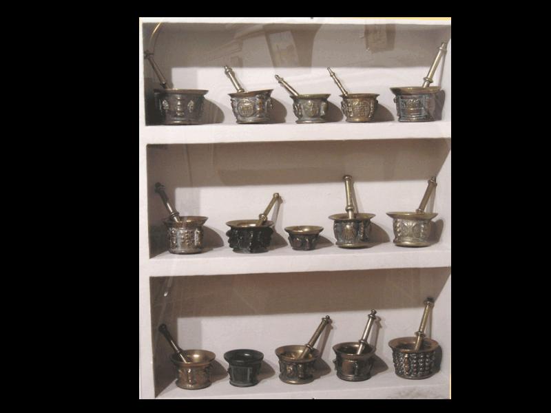 Colección de Almireces